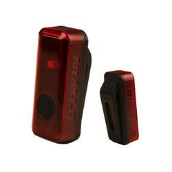 Fietsverlichting op led CL 100 achteraan USB Vioo Clip rood