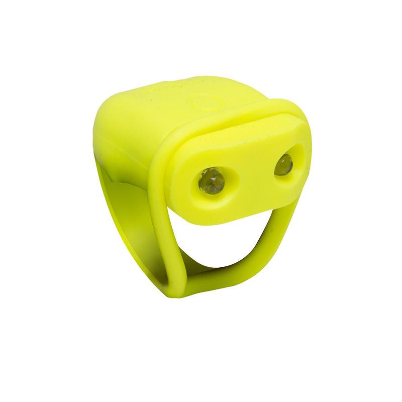 SL 100 Rear LED Battery-Powered Bike Light - Yellow