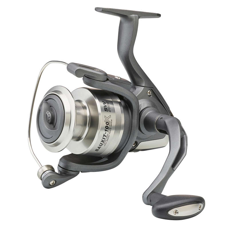 Carretos Medium Heavy Pesca com amostra - CARRETO BAUXIT-100 X SW 5000 CAPERLAN - Pesca com amostra