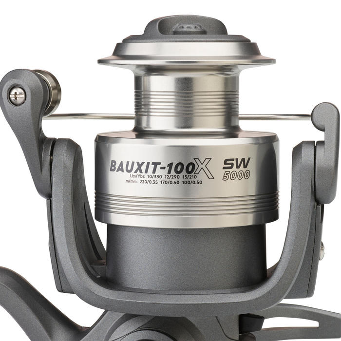 MOULINET PÊCHE en mer MEDIUM HEAVY BAUXIT-100 X SW 5000