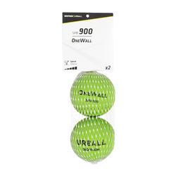 Balles One Wall SPB 900 verte (x2)