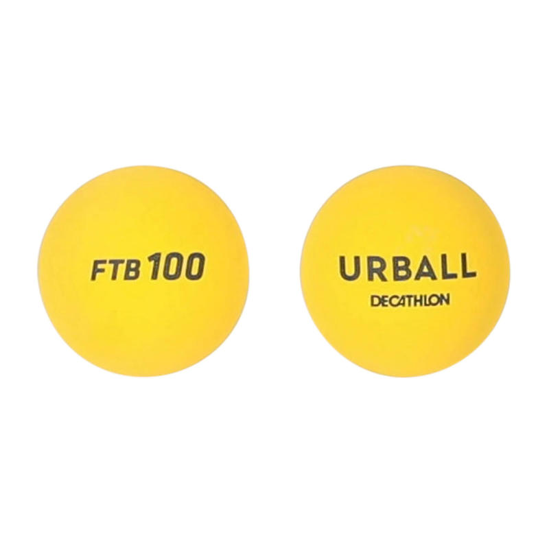 Frontenis One Wall Balls FTB100 Two-Pack - Yellow