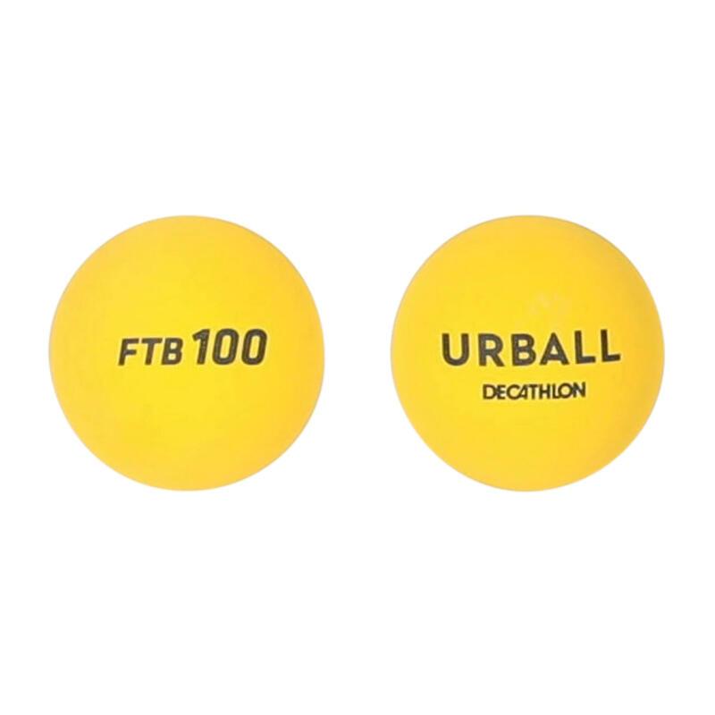 Frontenisbal One Wall FTB100 geel (x2)