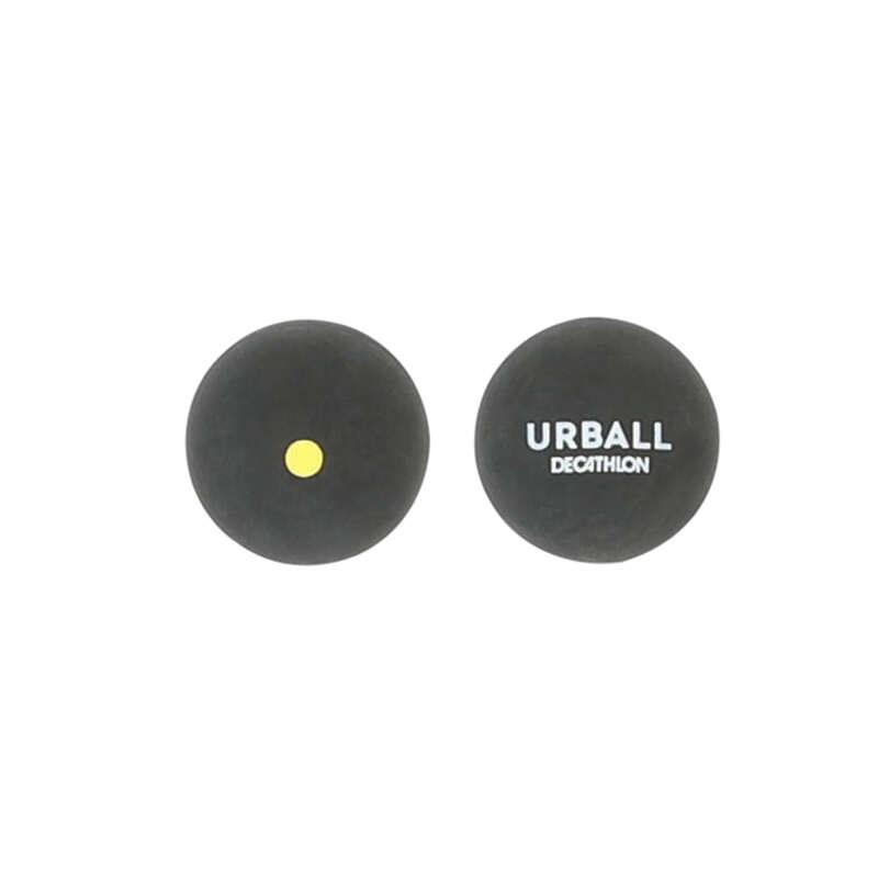 TÖMÖR GUMI KORONG Squash, padel - Pelota labda GPB500 sárga pont URBALL - Egyéb ütős sportok