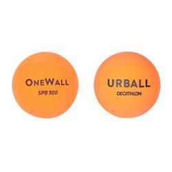 Bolas One Wall SPB 900 laranja (x2)