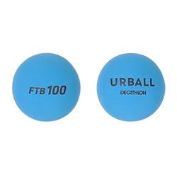 Bal voor frontenis one wall FTB100 x2 blauw