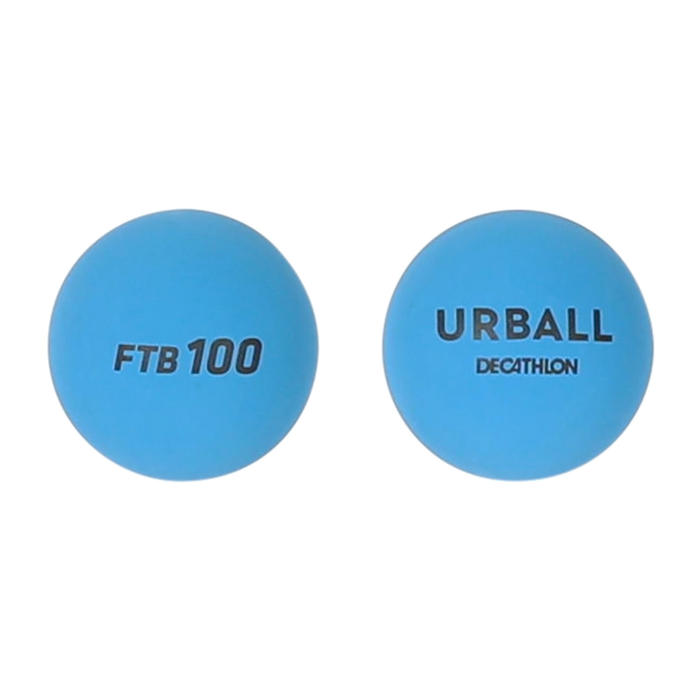 Balles Frontenis One Wall FTB100 Bleu (x2)