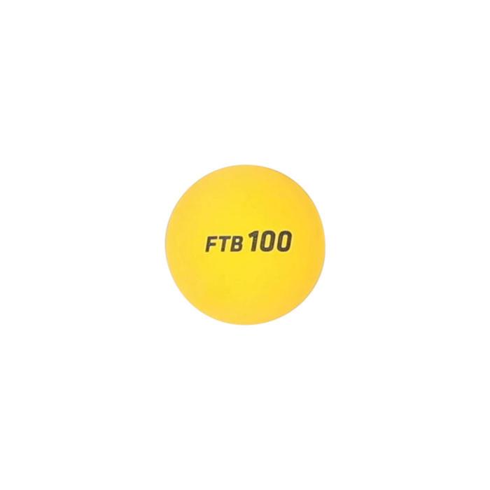 Bal voor frontenis one wall FTB100 x2 geel