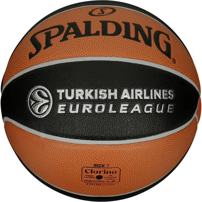 Ballon de basketball TF 1000 EuroLeague taille 7 pour adulte à partir de 13 ans