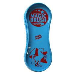 Escova Equitação MAGIC BRUSH Azul-Celeste