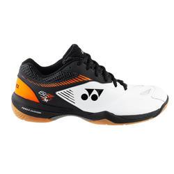 Chaussures de BADMINTON et sports INDOOR YONEX PC - 65 Z2 BLANC ORANGE