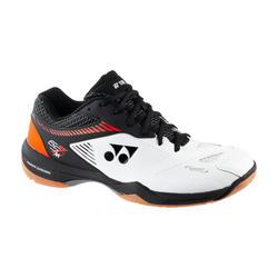 Badminton-/indoorschoenen Yonex PC 65 Z2 wit/oranje