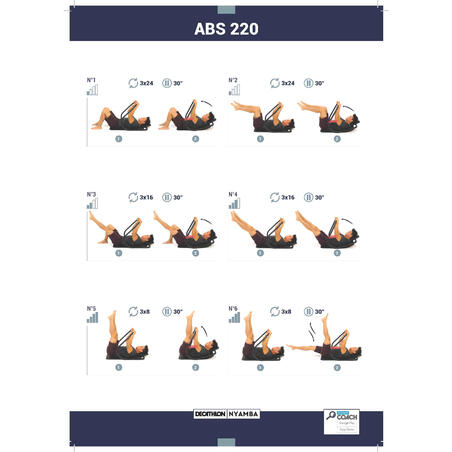 Ergonomic and Comfortable Abs Exercise 500