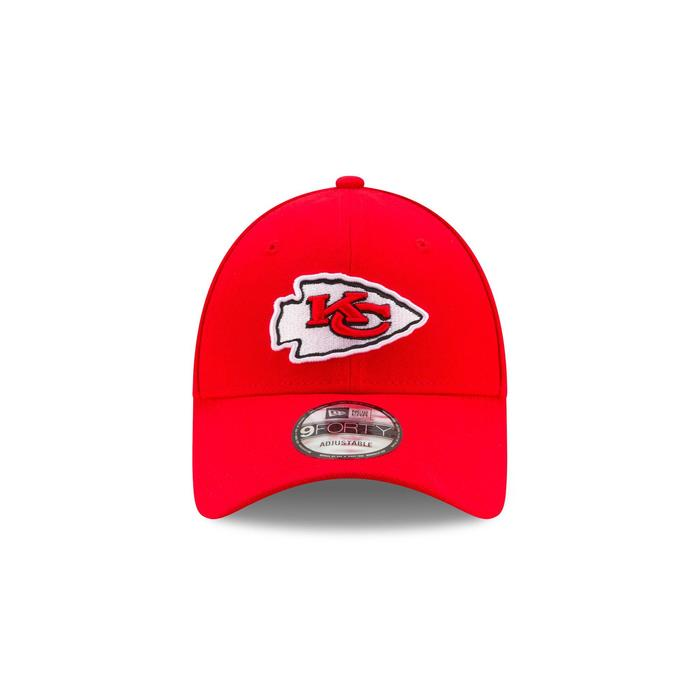 Casquette pour adulte NFL The League Kansas City Chiefs rouge.