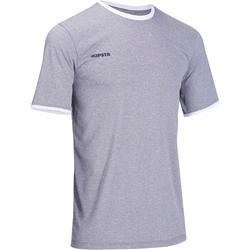 Volleybalshirt heren V100 lichtgrijs