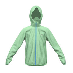 Kalenji AT100 Kids' Athletics Windbreaker Jacket - Green