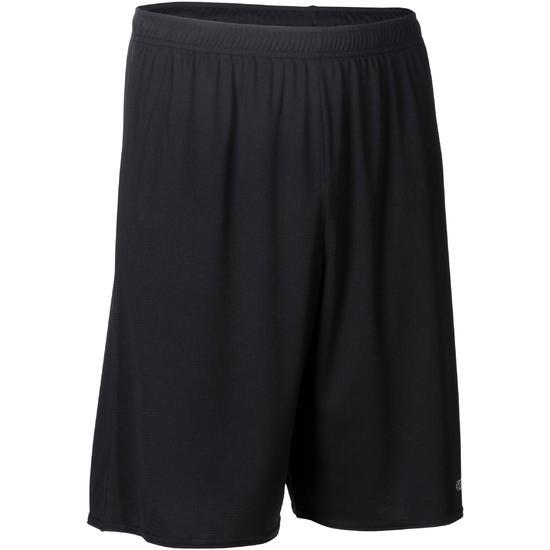 Basketbalshort volwassene B300 zwart - 184415