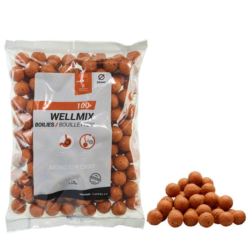 Boilies WELLMIX 20 mm 1 kg MONSTER CRAB