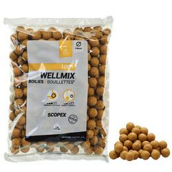 Boilies para Pesca de Carpa Wellmix Scopex 14 mm 1 kg