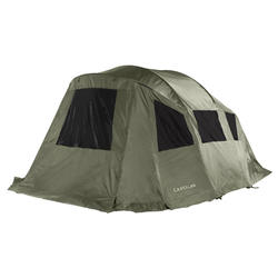Teto duplo de tenda de bivaque de pesca da carpa TANKER PANORAMAX