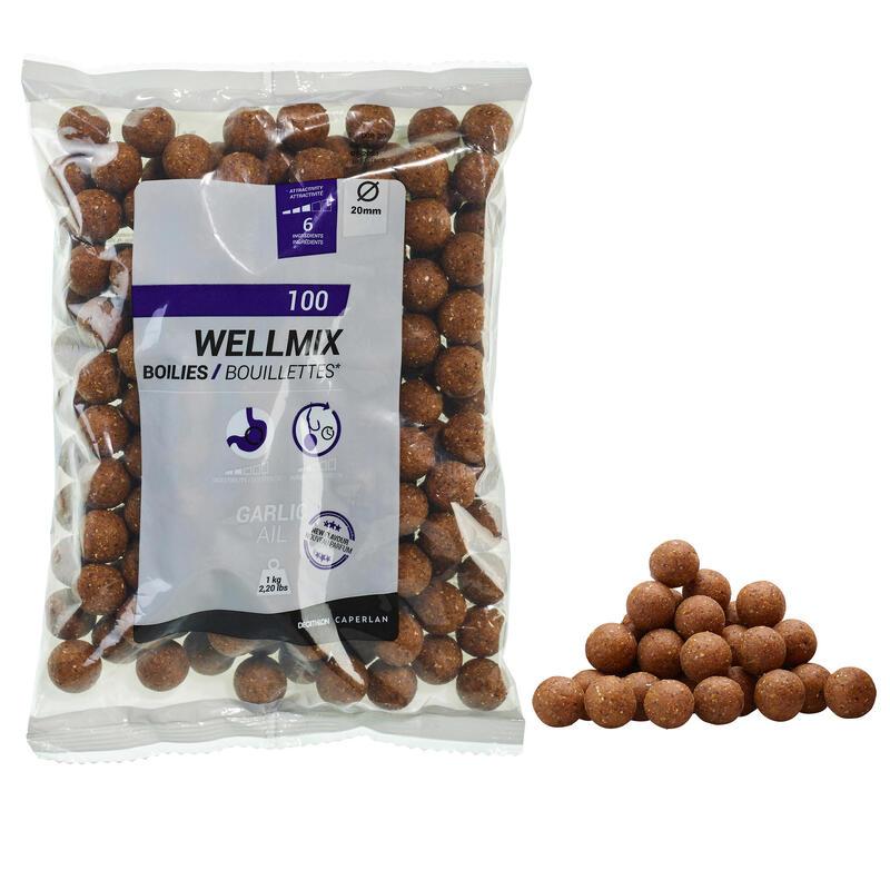 Boilies voor karper Wellmix 20 mm 1 kg look