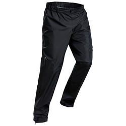 Men's waterproof mountain walking over-trousers - MH500