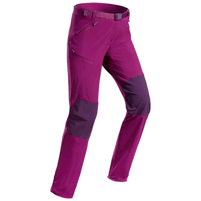Women's mountain hiking trousers - MH500