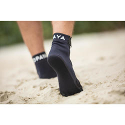 Chaussettes de beach-volley adulte BVSocks500 noires