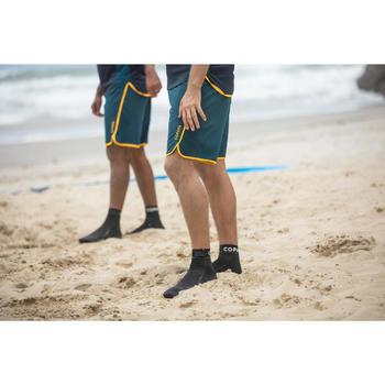 Chaussettes de beach-volley adulte BVSocks500 noires