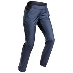 女款極速健行長褲FH 500-藍色