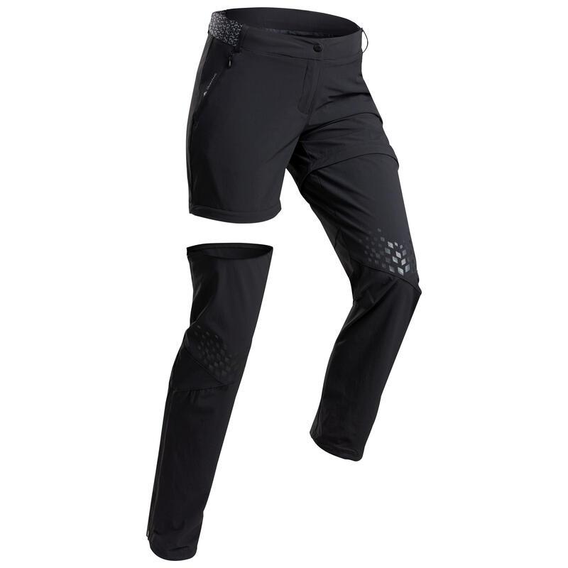 Pantalon modulable de randonnée montagne - MH550 - Femme