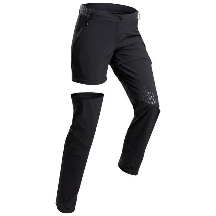 Women's convertible mountain hiking trousers - MH550
