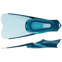 Adult Snorkelling Kit Mask Snorkel SNK 500 blue black