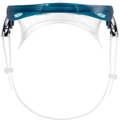 Bialetas Kit Careta Snorkel Snorkeling Snk 500 Ad Azul