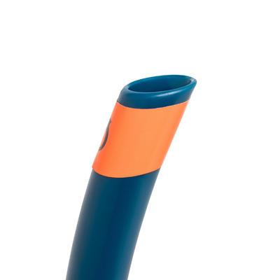 Kit Bialetas Careta Snorkel de Snorkeling Snk 500 Ad Azul
