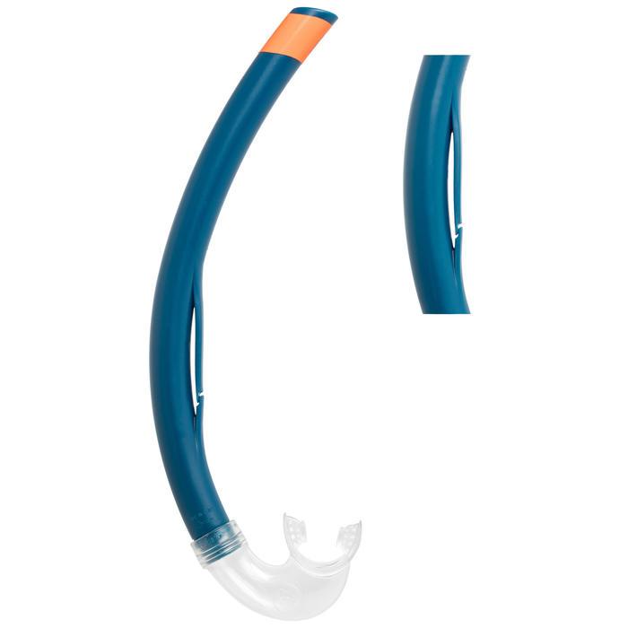 Máscara, Tubo e Barbatanas de Snorkeling SNK 500 Adulto azul (conjunto)