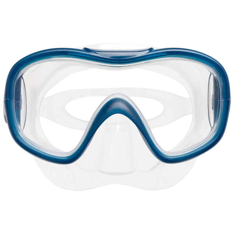 Kid's Snorkelling Kit Mask Snorkel SNK 500 turquoise