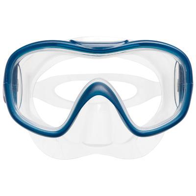 Kit Aletas Máscara Tubo Snorkel Snk 500 Niños Turquesa