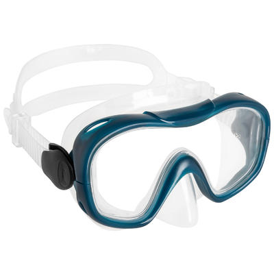 Adult Snorkelling Kit Mask Snorkel SNK 500 blue black