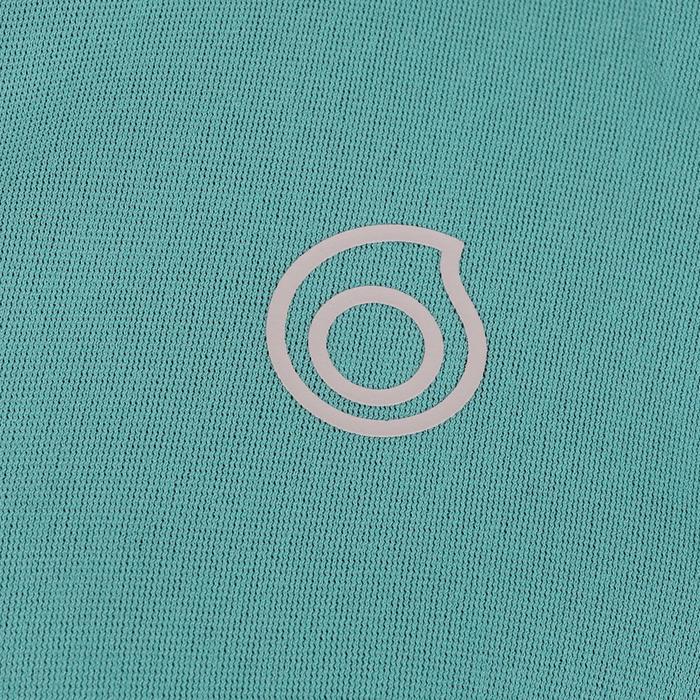 女款氯丁橡膠(neoprene)保暖長袖上衣500- 淺碧藍色