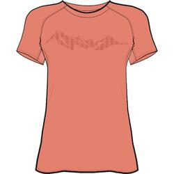 Women's trail running SL T-shirt - orange