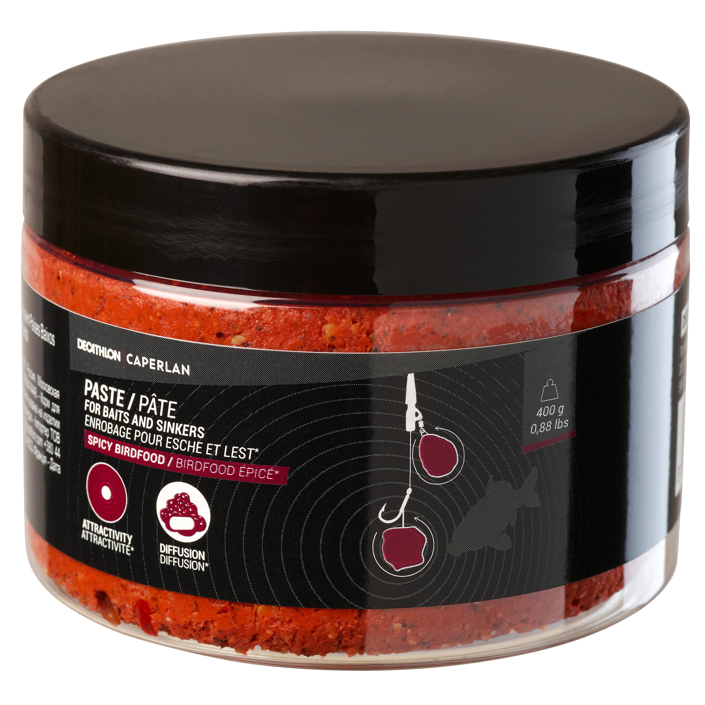 Pastă de boilies Spicy Bird Caperlan Promoție