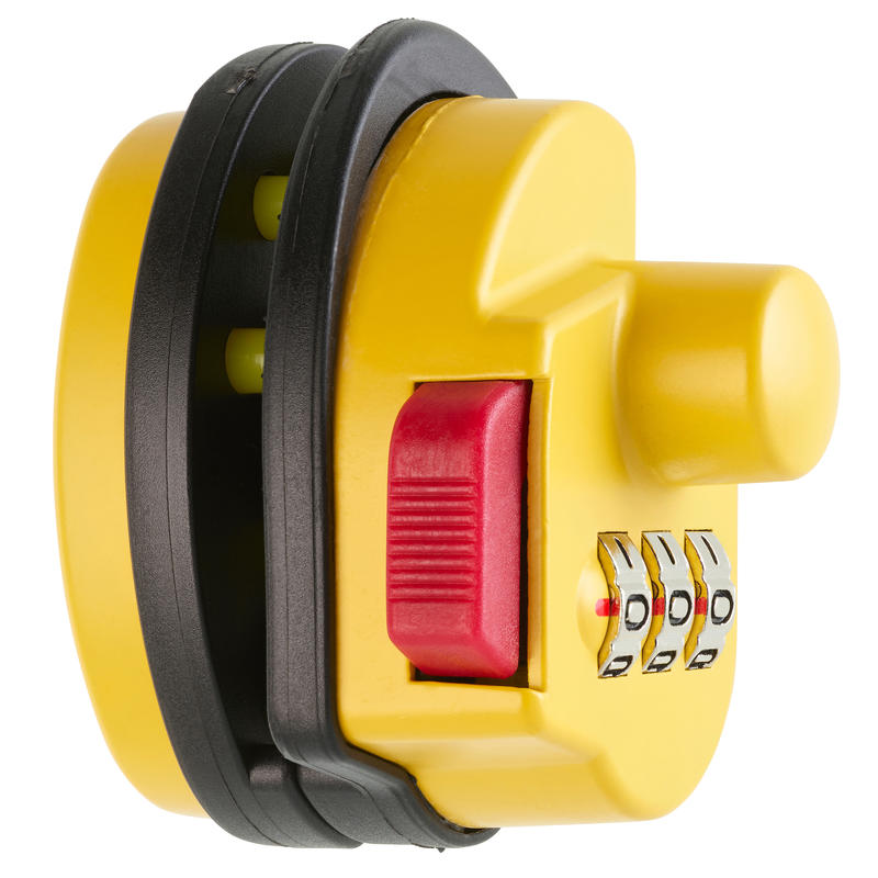 Gun Trigger Guard Lock - Yellow