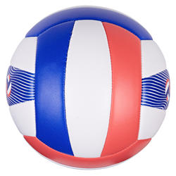 BVMB150 - MINI OUTDOOR BEACH VOLLEYBALL - WHITE BLUE RED