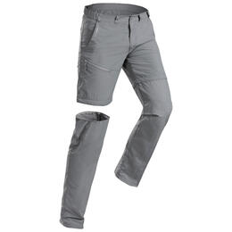 Men's Hiking Pants MH150 (Modular) - Grey
