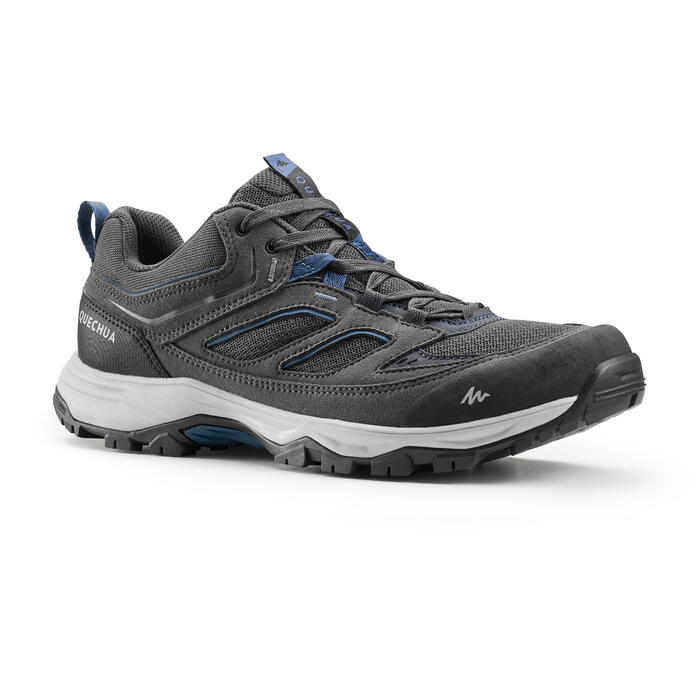 MH100 Men's Hiking Shoes - Grey