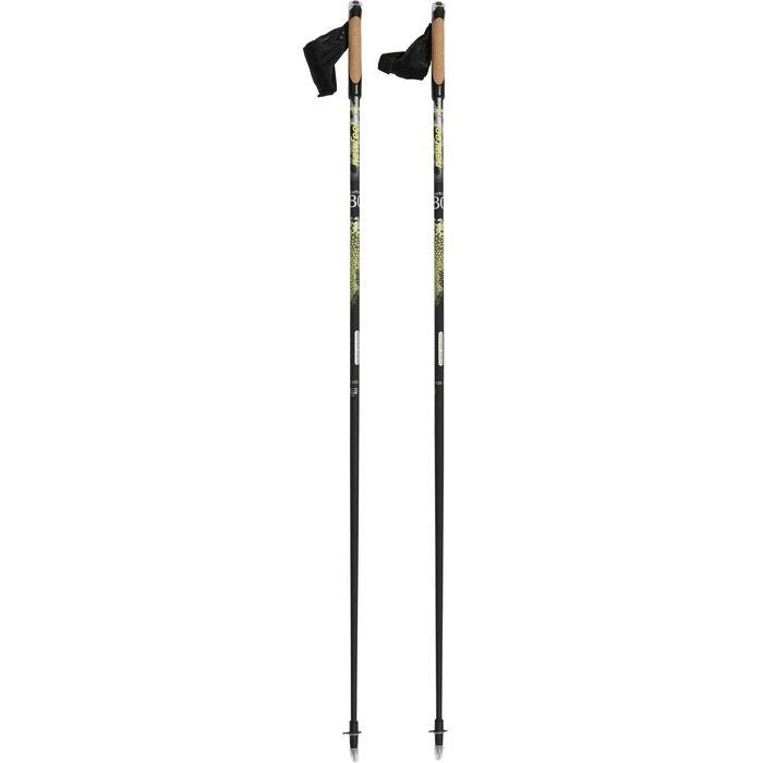 Nordic walking stokken PW P900 zwart / geel