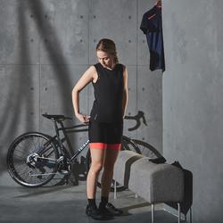 Sous vêtement vélo temps chaud femme noir