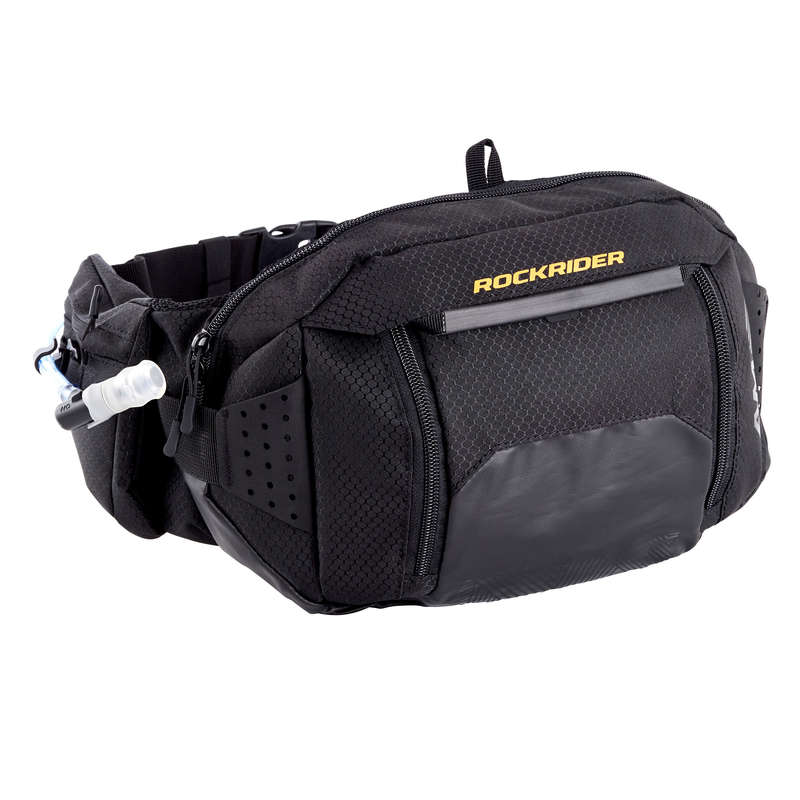 ALL MOUNTAIN MTB WATER BAGS Bags - AM Waist Bag and Water Bladder B'TWIN - Bags