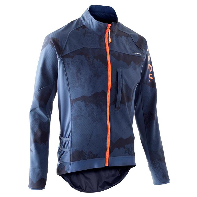 Men's Mountain Biking Jacket ST 500 - Blue
